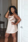 Luv Satin Cami Dress