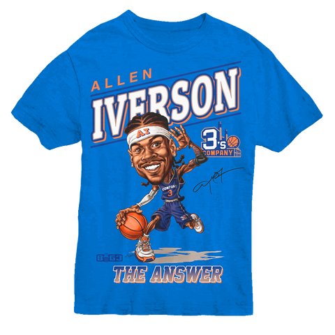 Iverson Caricature Tee
