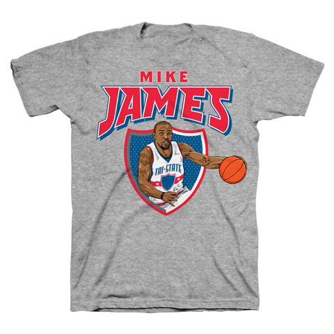Mike James Character Tee