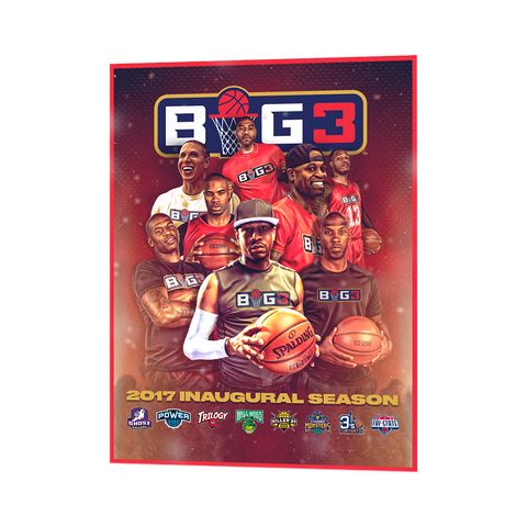 BIG3 Event Poster
