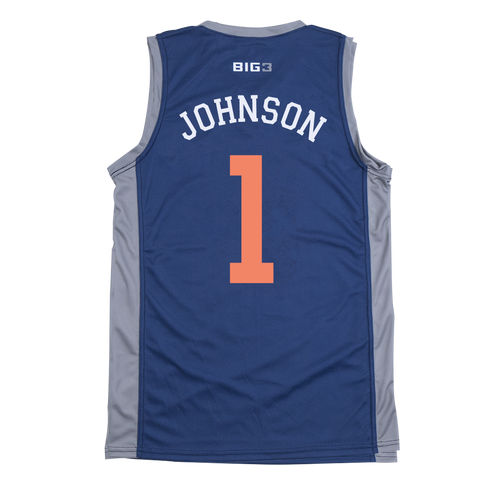 3'S COMPANY- DERMARR JOHNSON - OFFICIAL PLAYER REPLICA JERSEY