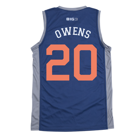 3'S COMPANY- ANDRE OWENS - OFFICIAL PLAYER REPLICA JERSEY
