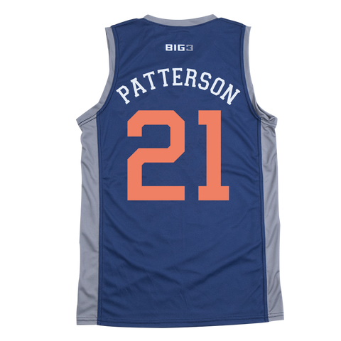 3'S COMPANY- RUBEN PATTERSON - OFFICIAL PLAYER REPLICA JERSEY