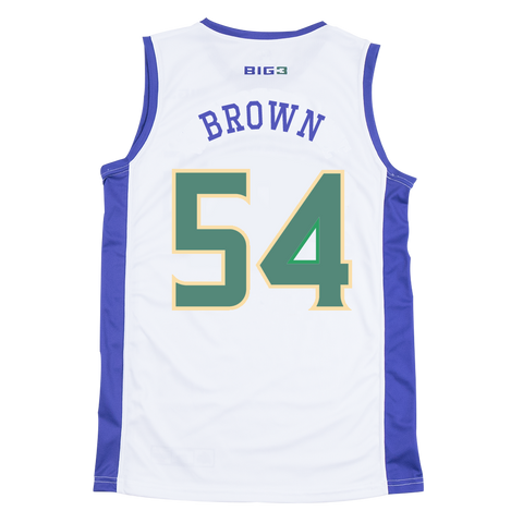 3 HEADED MONSTERS - KWAME BROWN - OFFICIAL PLAYER REPLICA JERSEY
