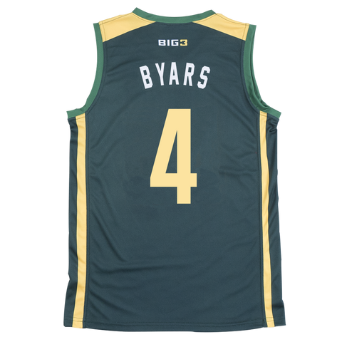 BALL HOGS - DERRICK BYARS - OFFICIAL PLAYER REPLICA JERSEY