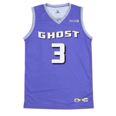 GHOST BALLERS - MARCUS BANKS- OFFICIAL PLAYER REPLICA JERSEY