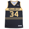 KILLER 3S - CHARLES OAKLEY - OFFICIAL PLAYER COACH REPLICA JERSEY
