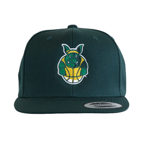 Ball Hogs Green Cap