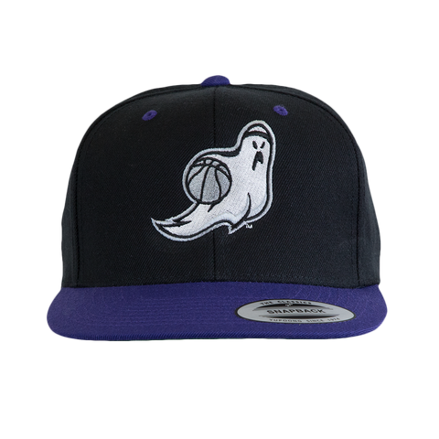 Ghost Ballers Black & Purple Cap