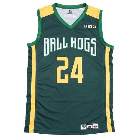 "Ball Hogs – Brian Scalabrine ""White Mamba"" – Official Player Captain Replica Jersey"