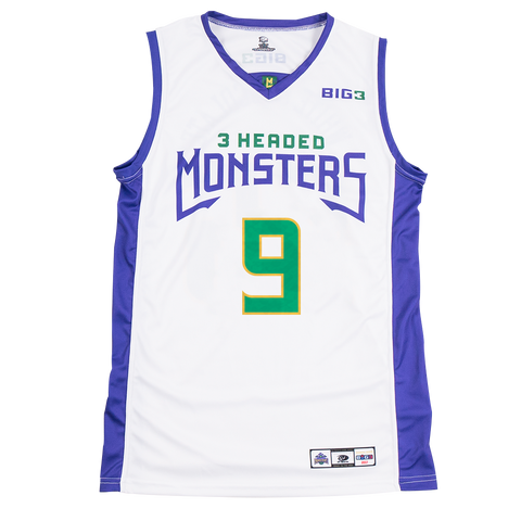 3 Headed Monsters – Rashard Lewis – Official Player Captain Replica Jersey