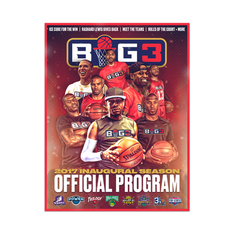 BIG3 Event Program