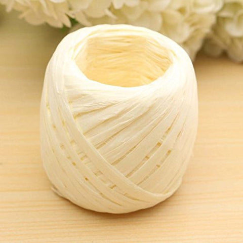20m Long Colorful Raffia Paper Ribbon Party Wedding Gift Decorating Flower Craft Scrapbook Wrapping Décor