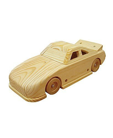 Race Car Stock Car Build Your Own Wood Working Vehicle