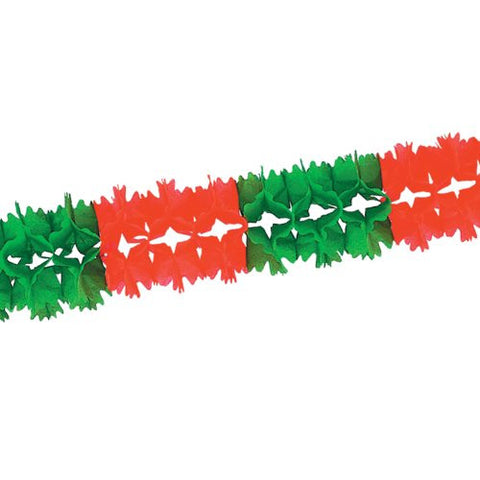 Beistle 55180 12-Piece RG Pageant Garland, 7-Inch by 14-Feet 6-Inch
