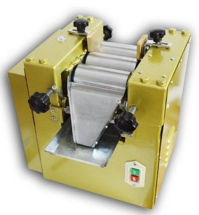 Cyana BRAND NEW Three Roll Grinding machine 3-18 um/3 times 5kg/h Zirconia ceramics rollers