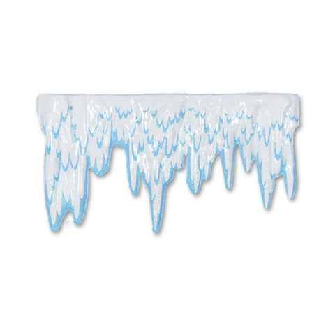 Beistle 22665 24-Piece Plastic Icicles, 27-Inch by 15-Inch