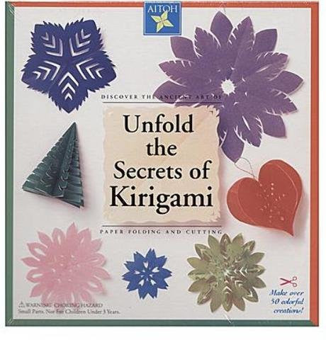 Aitoh Unfold the Secrets of Kirigami Kit 1 pcs sku# 1842827MA