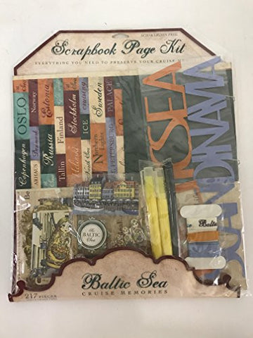 Baltic Sea Cruise/Vacation Scrapbook Kit