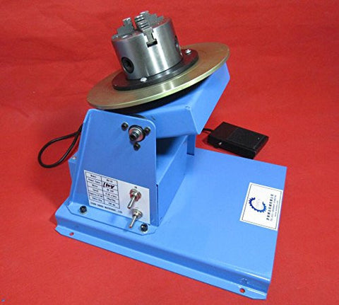 Cyana 2-20RPM 10KG Light Duty Welding Turntable Positioner With 80mm Chuck AC 110V or 240V