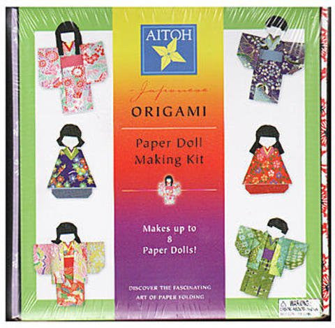 Aitoh Origami Paper Doll Making Kit 1 pcs sku# 1830964MA