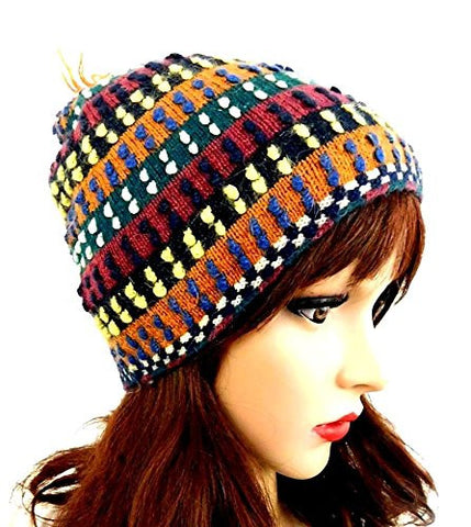 Beanie Multi Color Handmade Hat