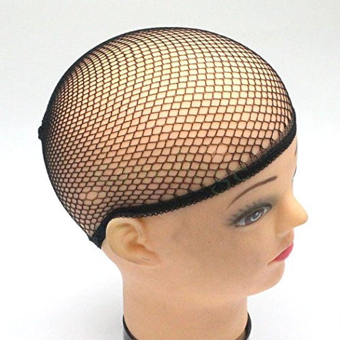 10Pcs Stretch Cool Mesh Weaving Wig Cap Hair Nets Hairnet Snood Cosplay Model
