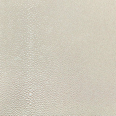 Nassimi Stingray Faux Leather Vinyl - Quart Shagreen Fabric (BTY) - Gray