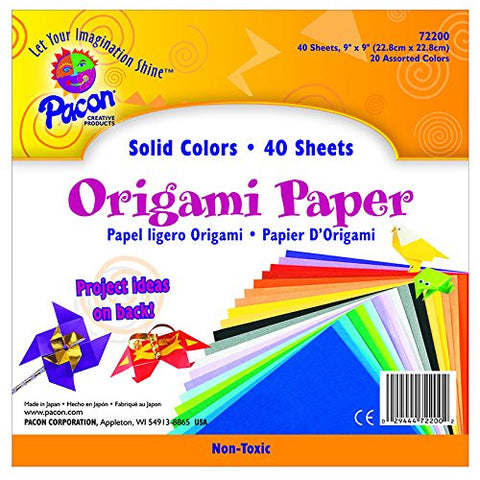 PACON CORPORATION ORIGAMI ASSORTED (Set of 6)