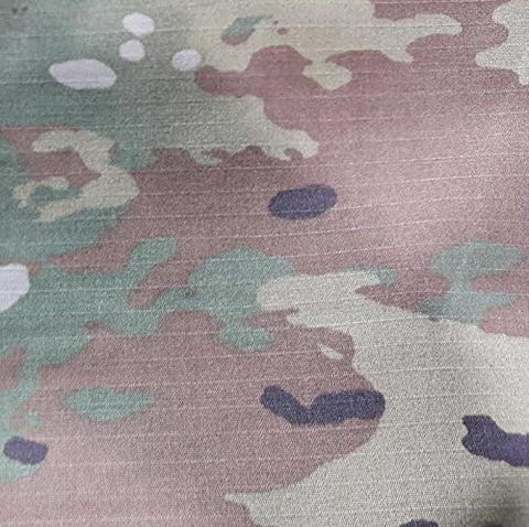 Multicam OCP Camouflage Nylon Cotton Ripstop Fabric 65 Inch Wide Sold By the Yard