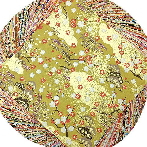 "5.9"" Yuzen Washi Paper Japan 100sheets Y00261"
