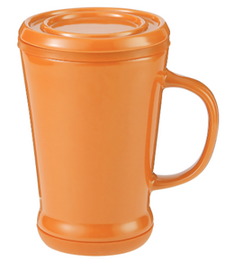 14 oz Tea Infuser Mug Orange