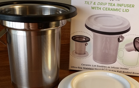 Tilt & Drip Infuser Basket Stainless Steel