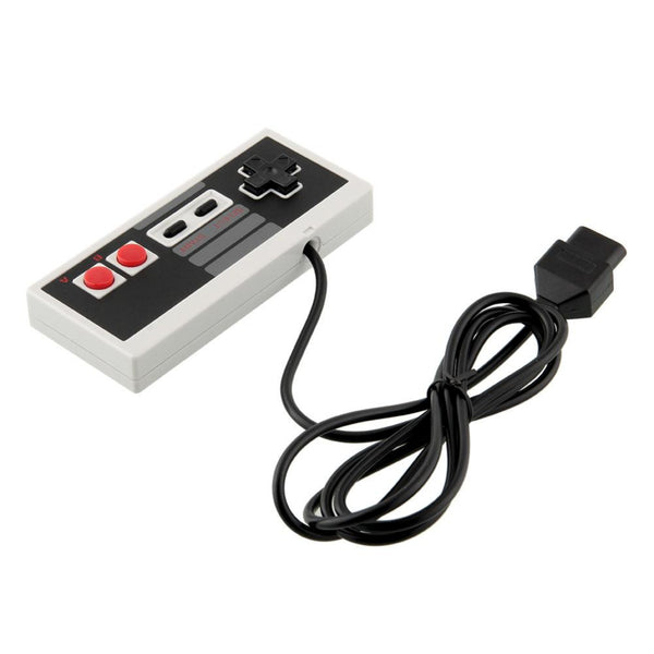 8 Bit Game Gaming wired Controller Control PAD Gamepad Joystick For Nintendo NES System Console Classic Style 6ft 3rd party