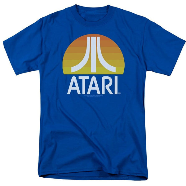 2017 Hot Sale Fashion Atari Video Game Retro Logo Vintage Gaming Console T Shirt Mans Fashion Novelty Short Sleeve Tee