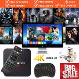 MX Pro Smart Android TV Box Quad Core