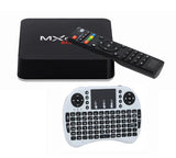 MXQ Pro -  Android TV Box Smart 3D 4K TV Media Player Free Movies