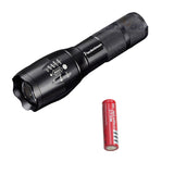XM-L T6 LED Tactical Flashlight 3800LM E17 Aluminum Torch Light