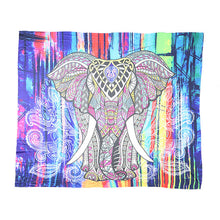 Load image into Gallery viewer, Elephant Mandala Tapestry Wall  Hanging - Buddha Vibrations