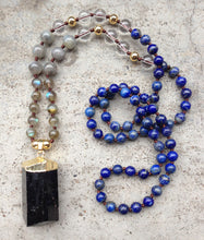 Load image into Gallery viewer, Black Tourmaline Handmade Necklace - Buddha Vibrations