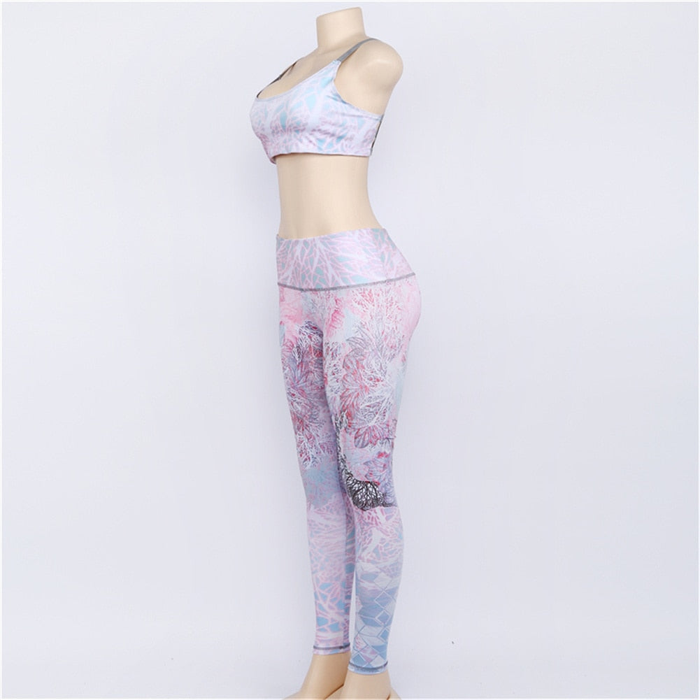 2-piece Bar and Pants Workout Suit
