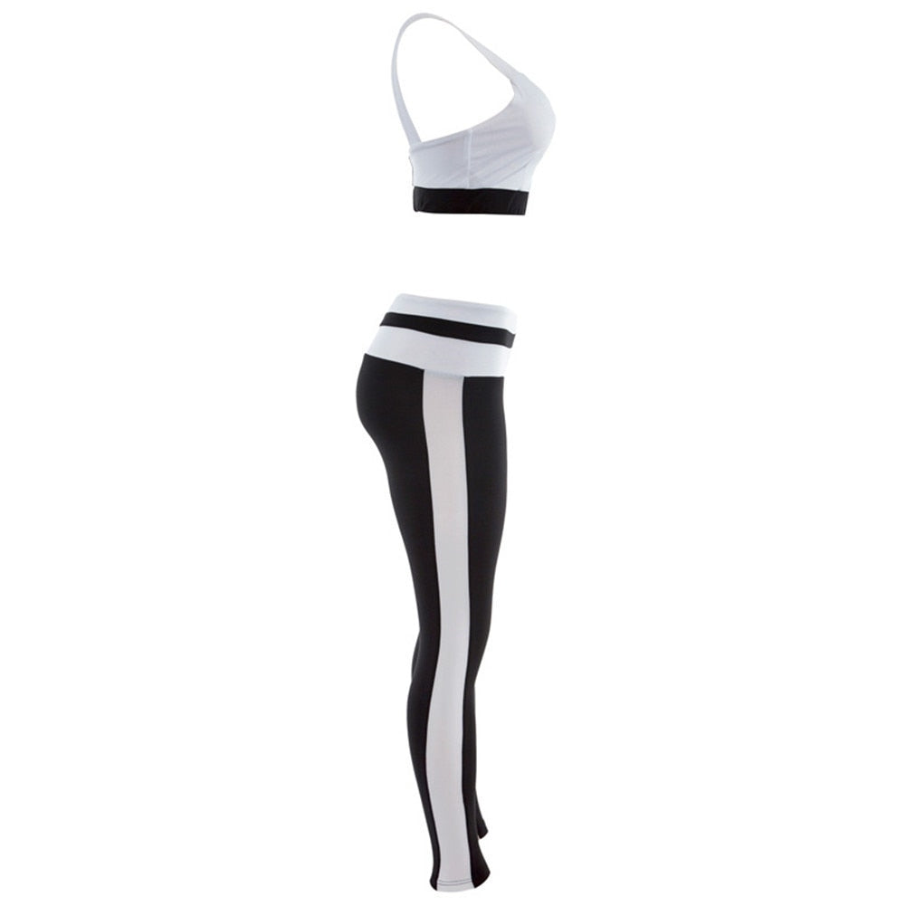 Bra and Sport Leggings Yoga Fitness Activewear