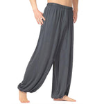 Loose Fitting Tai Chi Unisex Yoga Pants - Buddha Vibrations