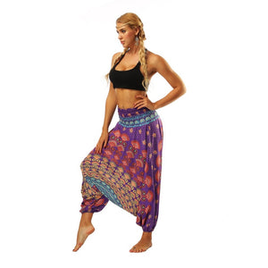 Wide Leg Loose Yoga Trousers