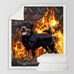 3D Animal Pug Plush Throw Blanket - Buddha Vibrations
