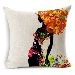 Decorative pillowcase  covers - Buddha Vibrations