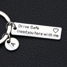 "Load image into Gallery viewer, "" I Need You Here With Me""/Engraved Keychain - Buddha Vibrations"