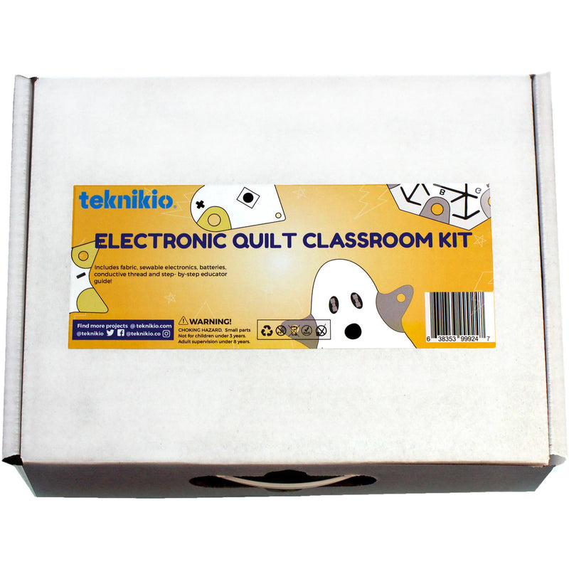 Teknikio Electronic Quilt Classroom Kit box packaging