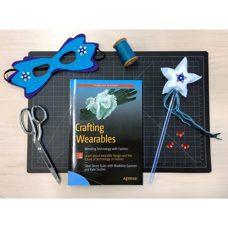 Crafting wearables + Fabtronic Sewing Set