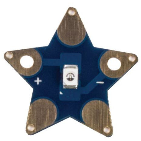 Teknikio star shaped LED board (blue, white, gold)